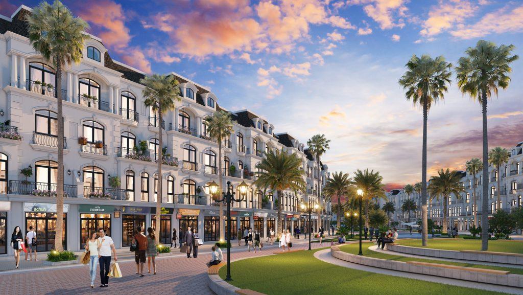 Các căn Shop có diện tích từ 70m2 đến 120m2 được quy hoạch khéo léo, thông minh, phù hợp với nhiều loại hình kinh doanh, mua sắm.