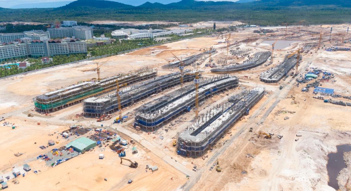 Bên trong siêu dự án 85,1 ha nằm kế cận casino Phú Quốc