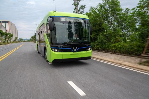 Xe buýt do VinFast sản xuất sẽ hoạt động tại Phú Quốc